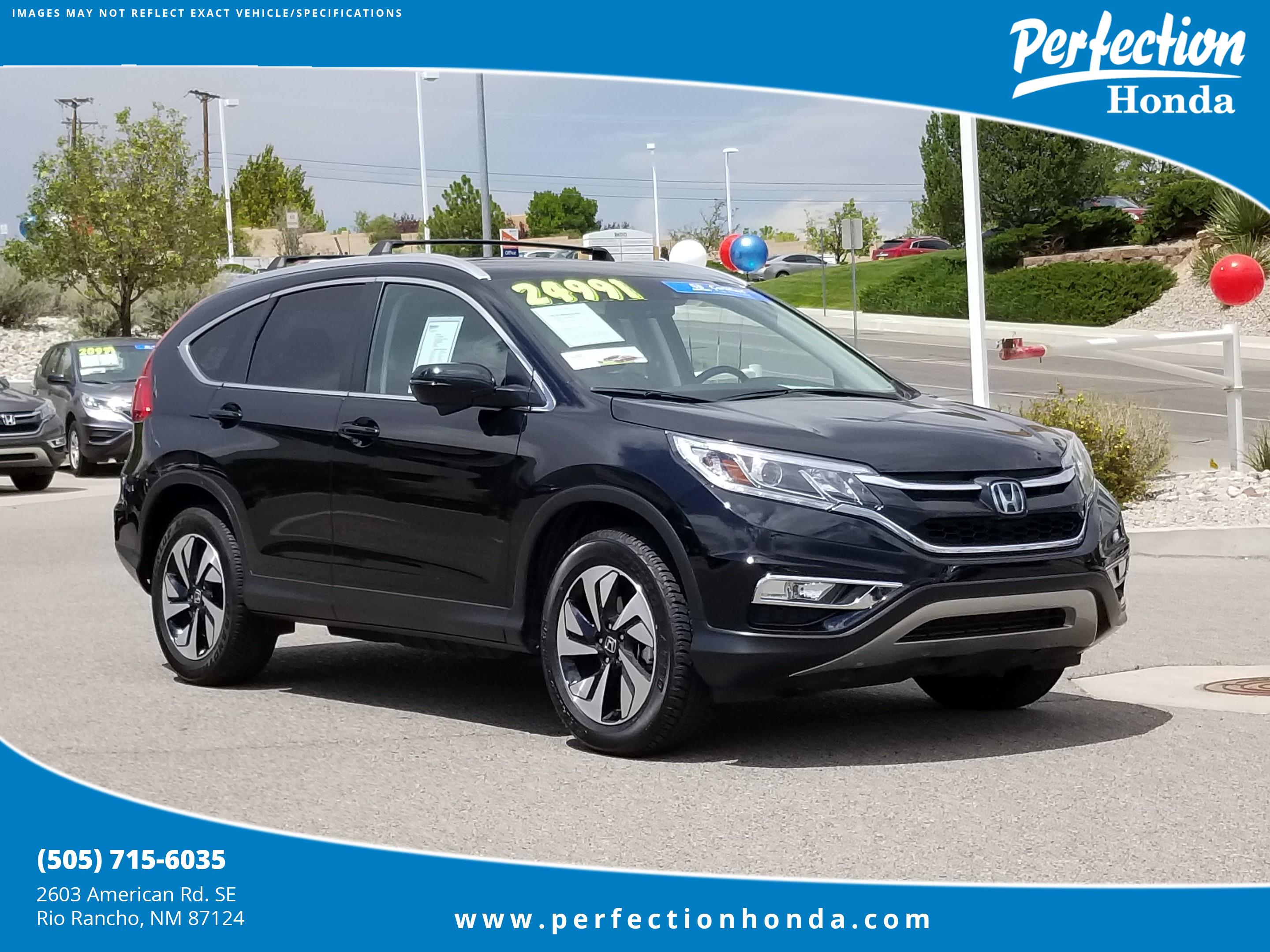 Certified Pre Owned 2015 Honda CR V Touring