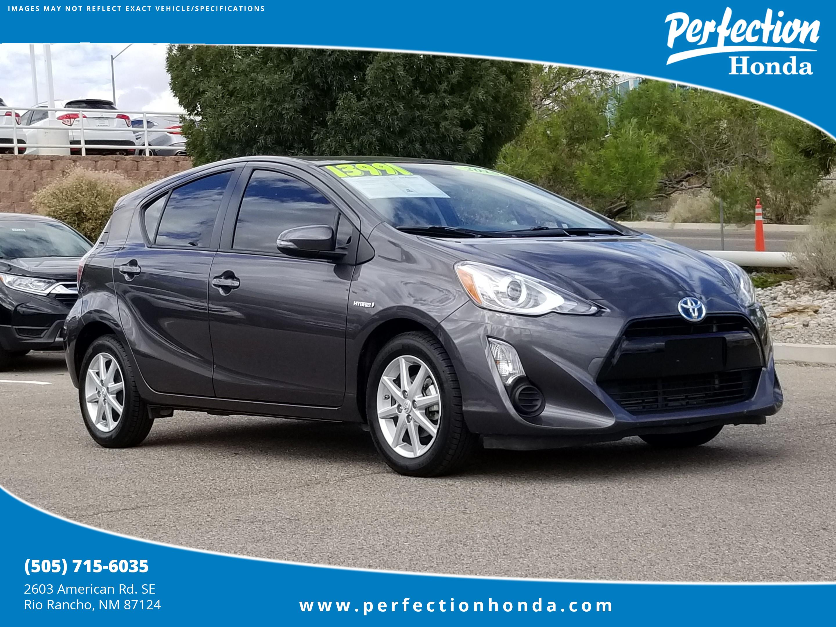 New Toyota Rio Rancho >> Pre Owned 2015 Toyota Prius C Three Hatchback In Rio Rancho 190500t