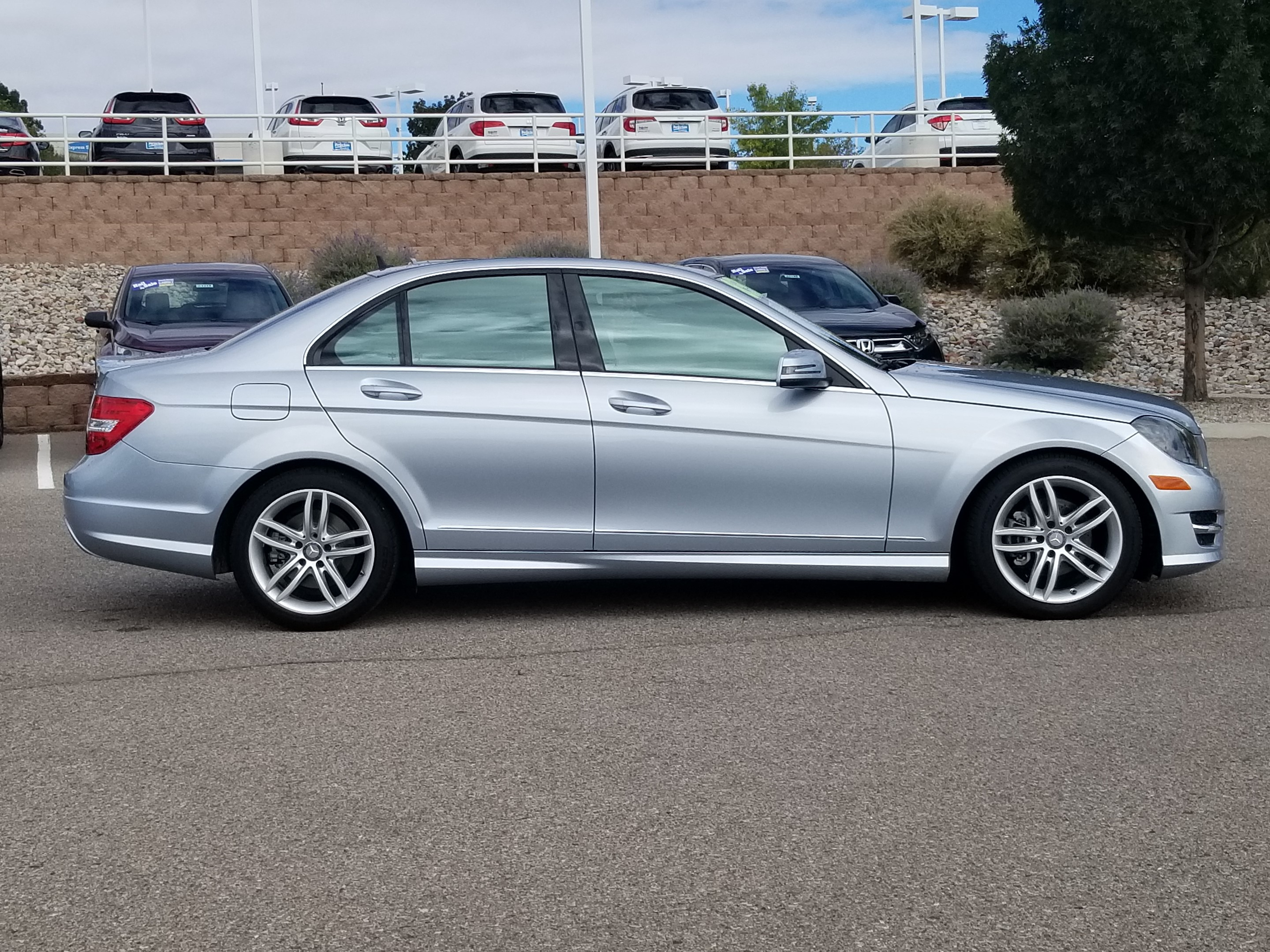 Pre Owned 2014 Mercedes Benz C Class 4dr Car in Rio Rancho T